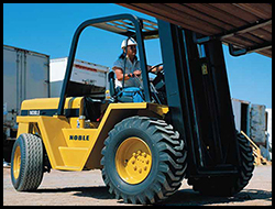 Rough Terrain Forklift Manitex Liftking Noble R Series