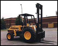 Rough Terrain Forklift Manitex Liftking M Series