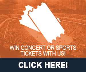 Concert Or Sports Tickets Contest